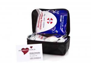 Bæltetaske med førstehjælpsudstyr - KS Førstehjælp